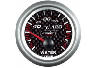 Simoni Racing Analoog Instrument - watertemperatuur 40-120gr. - 52mm - Carbon