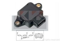 Sensor, smoorkleppenverstelling Facet 10.5002 KW