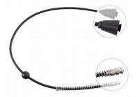 Snelheidsmeterkabel K43134 ABS