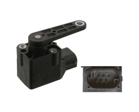 Sensor, Xenonlicht (lichtstraalregeling) 38771 FEBI