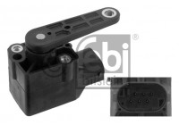Sensor, Xenonlicht (lichtstraalregeling) 34586 FEBI