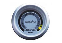 Prestanda Instrument luft / bränsleförhållandet 2 '' silver