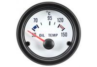 Prestanda Instrument Oljetemperatur 50-150C Vit 52mm