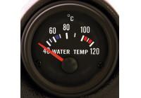 Prestanda Instrument Svart Vattentemperatur 40-120C 52mm