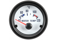 Prestanda Instrument Vit Vattentemperatur 40-120C 52mm