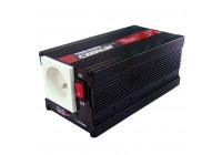 Inverter 12> 230V 300-900W (För användning i Belgien