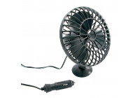Fan + suction cup 12V.