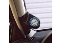 RGM A-Pillarmount Left - 1x 52mm - Seat Ibiza / Cordoba 6K2 1999-2002 - Black (ABS)
