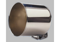 Chrome instrument holder (cup) for 52mm meters