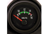 Performance Instrument Black Voltage 8-16 Volt 52mm