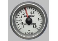 Performance Instrument Turbo pressure +2> -1 bar