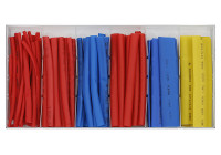 Assortment of shrink sleeves 85 pieces