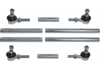 Jeu de barres stabilisatrices universelles 15 - 32 cm KS 130008 AutoStyle
