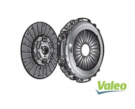 Kit d'embrayage 827512 Valeo