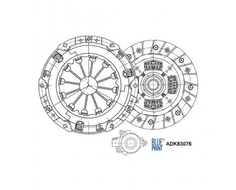 Kit d'embrayage ADK83076 Blue Print
