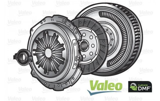 Kit d'embrayage FULLPACK DVA 837104 Valeo