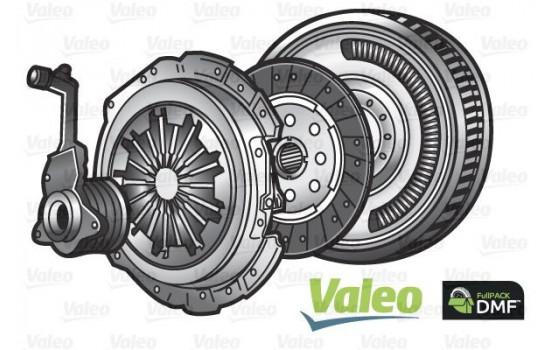 Kit d'embrayage FULLPACK DVA (CSC) 837412 Valeo