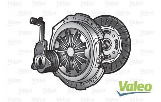 Kit d'embrayage KIT3P (CSC) 834289 Valeo