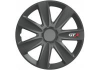 Ensemble d'enjoliveurs de roue 4 pièces GTX Carbon Graphite 17 pouces