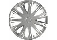Jeu de enjoliveurs de roue 4 pièces Spark Silver 16 pouces