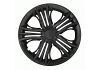 Wheelcoverset Fun Black 15 Pouces