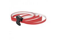 Foliatec PIN Striping pour jantes, y compris accessoire de montage - rouge néon - 4 bandes 6mmx2,15meter & 1 te