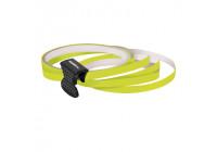 Foliatec PIN Striping pour jantes, y compris accessoire de montage - jaune néon - 4 bandes 6mmx2,15meter & 1 te