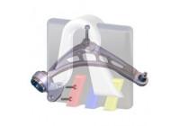 Bras de liaison, suspension de roue 96-09569-198 RTS