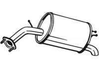 Silencieux arrière 128-007 Bosal