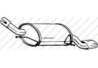 Silencieux arrière 185-621 Bosal