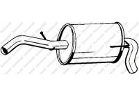Silencieux arrière 233-607 Bosal