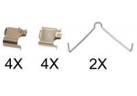 Kit d'accessoires, plaquette de frein à disque