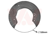 Déflecteur, disque de frein