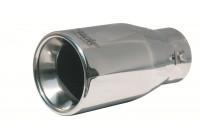 Simoni Racing Uitlaatsierstuk Rond RVS - Diameter 1030 - Lengte 200mm - Montage 48 - 73 mm
