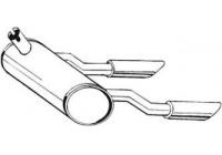 Einddemper 185-582 Bosal