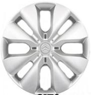 """New Genuine Citroen C1 14/"""" Wheel Trim Hub//Cap Set Of 4 5416R4"""