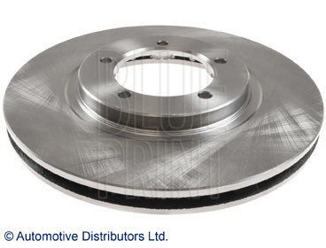 No Blue Print ADC443124 Brake Disc Set 2 Brake Disc front of Holes 5 internally ventilated