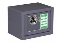 Elektroniskt säkerhetsbox - 23 x 17 x 17 cm - GRÅ