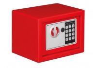 Elektroniskt säkerhetsbox - 23 x 17 x 17 cm - RÖD
