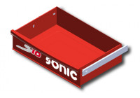 Stort fack för verktyg S10 vagn, röd