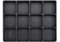 Behållare, tom 12 fack (290x370x48mm)