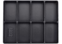 Behållare, tomma fack 8 (290x370x48mm)