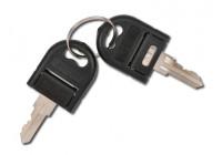 Nyckel till i kundvagnen (låsa fyrkantig kontakt)