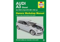 Haynes Workshop manual Audi A3 (apr 2008 - aug 2012)