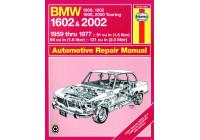 Haynes Workshop manual BMW 1500, 1502, 1600, 1602, 2000 och 2002 (1959-1977) klassisk utskrift