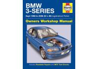 Haynes Workshop manual BMW 3-serie bensin (september 1998-2006)