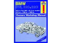 Haynes Workshop manual BMW 316, 320 och 320i (4-cyl) (1975-1983) klassisk utskrift