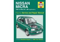 Haynes Workshop manual Nissan Micra (1993-2002)