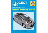 Haynes Workshop manual Peugeot 308 bensin och diesel (2007-2012)