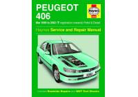 Haynes Workshop manual Peugeot 406 bensin och diesel (mars 1999 - 2002)
